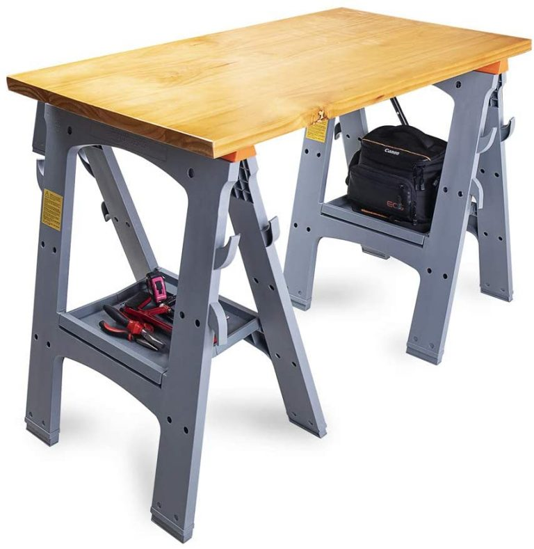 AmazonBasics Folding Sawhorse - Set of 2