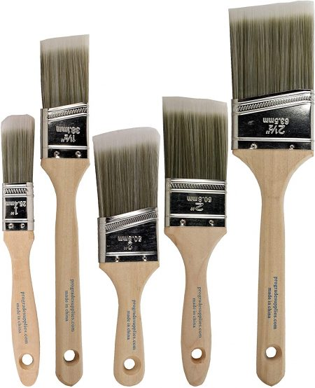 Pro Grade Paint Brush Set