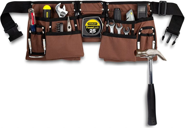 heavy duty construction tool belt