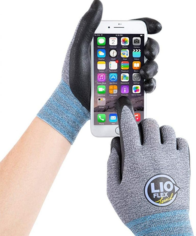 Multipurpose screen touch working gloves